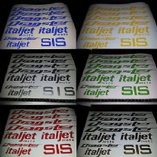 Italjet Dragster Decals/Stickers
